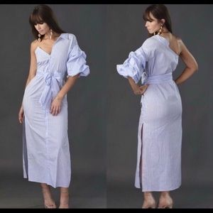 9a63e91b8e6 Dresses   Skirts - Fitted maxi pin stripe dress.
